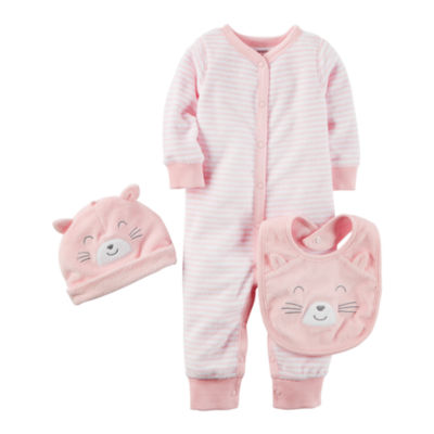Carter's Little Baby Basics 3-pc. Layette Set-Baby Girls