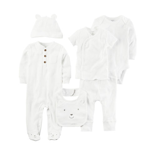 Carter's 6 Pair Layette Set-Baby Unisex