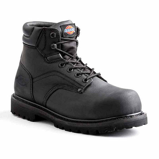 Dickies Mens Ratchet Slip Resistant Work Boots