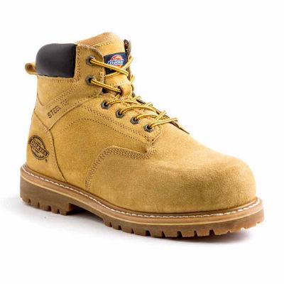 Dickies Mens Prowler Slip Resistant Steel Toe Work Boots Lace-up