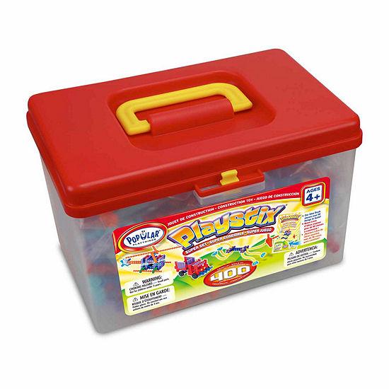 Popular Playthings Playstix Super Set: 400 Pcs