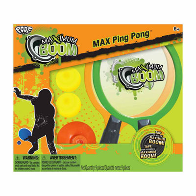 POOF-Slinky Max Boom™ Ping Pong