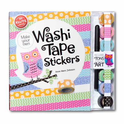 Klutz Make Your Own Washi Tape Stickers