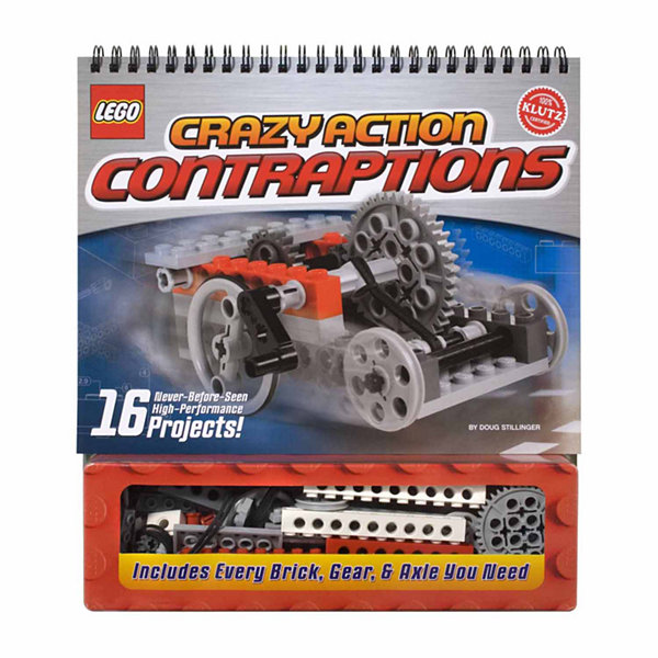 Klutz Lego Crazy Action Contraptions Book