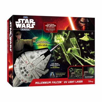 Uncle Milton Star Wars Science - Millennium FalconUV Light Laser