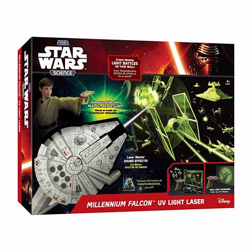 Uncle Milton Star Wars Science - Millennium FalconUV Light Laser