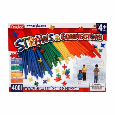 Roylco Straws & Connectors - 400 Piece Set