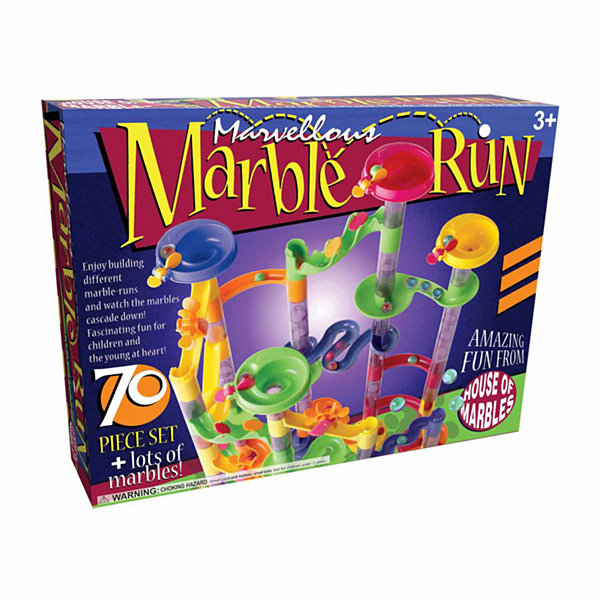 House of Marbles Marvellous Marble Run - 70 PieceSet