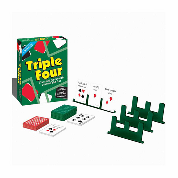 Jax Ltd. Triple Four Card Game