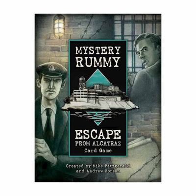 U.S. Games Systems Escape From Alcatraz Card Game
