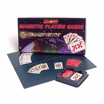 Kling Magnetics Kling Magnetic Playing Cards - Complete Game Set