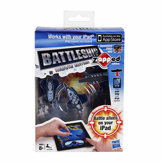 Hasbro Battleship zAPPed Movie Edition