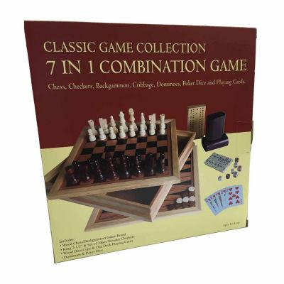 John N. Hansen Co. 7 in 1 Combination Game Set