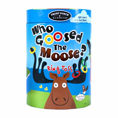Front Porch Classics Who Goosed The Moose? Ring Toss