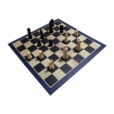 House of Marbles 3-in-1 Chess Draughts/Checkers &Backgammon