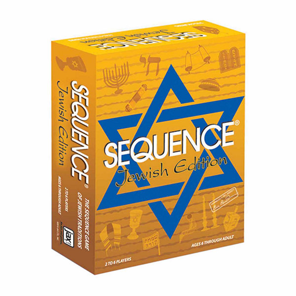 Jax Ltd. Sequence Game - Jewish Edition