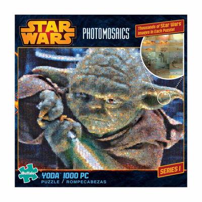 Buffalo Games Star Wars Photomosaics - Yoda: 1000Pcs