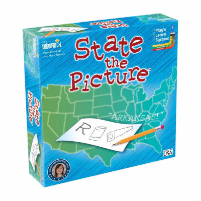 Briarpatch State the Picture Board Game