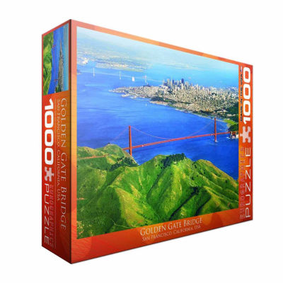 Eurographics Inc Golden Gate Bridge San FranciscoCalifornia USA: 1000 Pcs