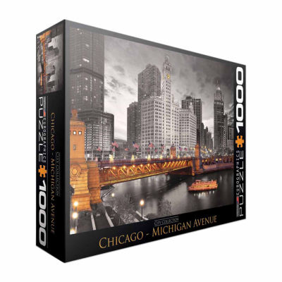 Eurographics Inc City Collection - Chicago - Michigan Avenue: 1000 Pcs