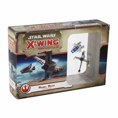 Fantasy Flight Games Star Wars X-Wing Miniatures Game - Rebel Aces Expansion Pack