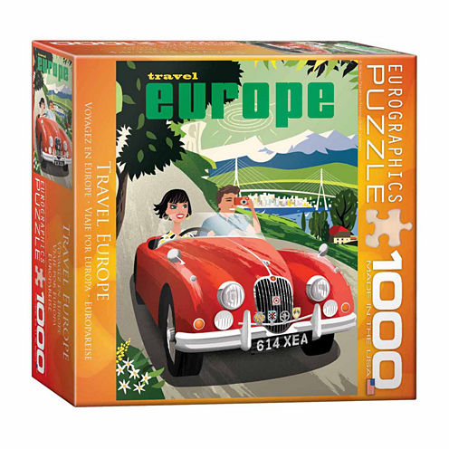 Eurographics Inc Travel Europe: 1000 Pcs