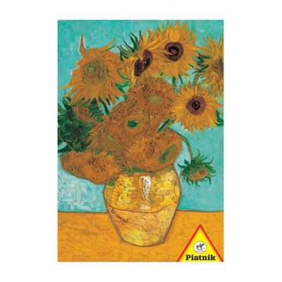 Piatnik Van Gogh - Vase with Twelve Sunflowers: 1000 Pcs