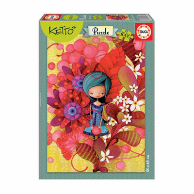 Educa Ketto - Blue Lady: 1000 Pcs