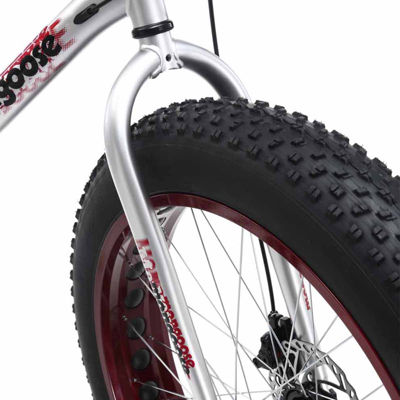 "Mongoose Malus 26"" Mens Fat Tire Bike"