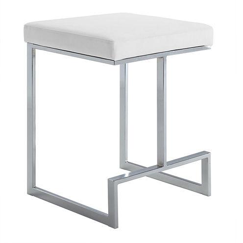 Carolina Chair & Table Kafka Counter Height Upholstered Bar Stool