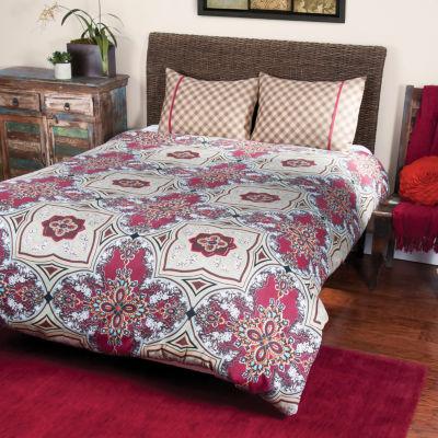 Rizzy Home Jordan  Moroccan Tile  3 Piece Comforter Set