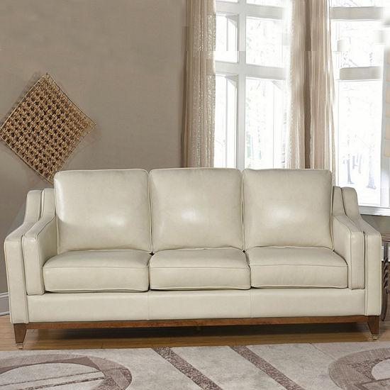 Devon Claire Edwards Top Grain Leather Sofa