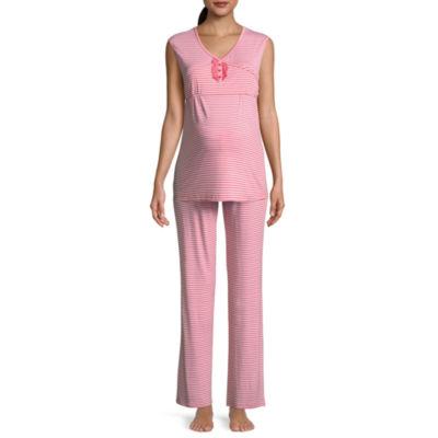 Lamaze Maternity Intimates 2pc. Floral Pant Pajama Set-Maternity