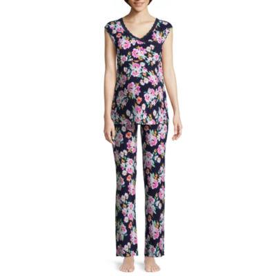 Lamaze Maternity Intimates 2-pack Floral Pant Pajama Set-Maternity