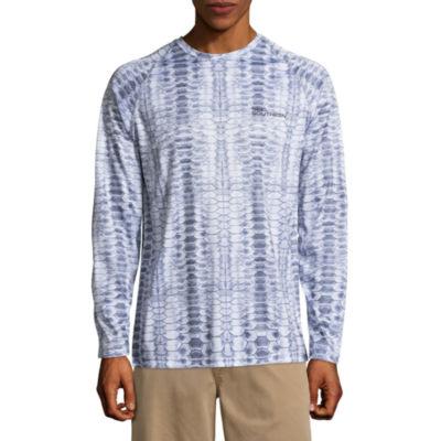 Reel Southern Long Sleeve Logo Graphic T-Shirt