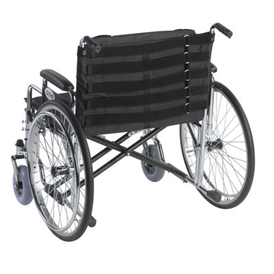 "Drive Medical Adjustable Tension Back Cushion for22""-26"" Wheelchairs"