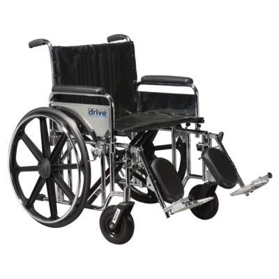 Drive Medical Sentra Extra Heavy Duty Wheelchair