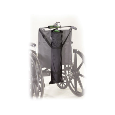 Drive Medical Wheelchair Carry Pouch for Oxygen Cylinders