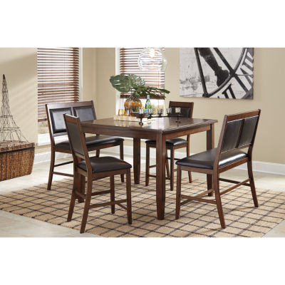 Signature Design by Ashley®  Meredy 5-Piece Counter Height Dining Set