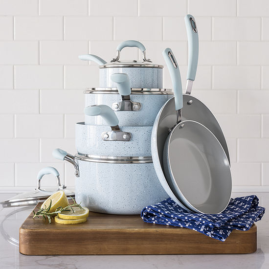 Cooks Speckle 10-pc. Cookware Set