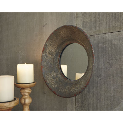 Signature Design by Ashley® Carine Round Wall Mirror