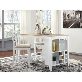 Signature Design by Ashley® Gardomi Counter Height Dining Room Table