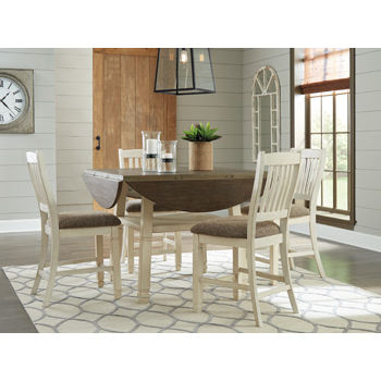 Signature Design by Ashley® Bolanburg Counter Height Dining Room Table