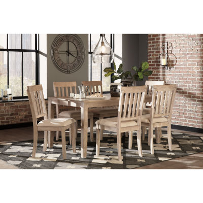 Gentil Signature Design By Ashley® Mattilone 7 Piece Dining Set