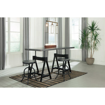 Signature Design by Ashley® Minnona Rectangular Dining Room Adjustable Extension Table