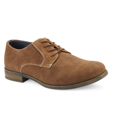 X-Ray Mens Forza Oxford Round Toe Lace-up Shoes