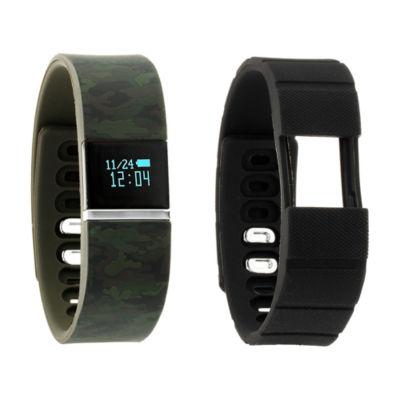 Ifitness Activity Tracker Unisex Multicolor Smart Watch-Ift5500bk668-078