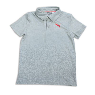 Puma Short Sleeve Jersey Polo Shirt - Preschool Boys