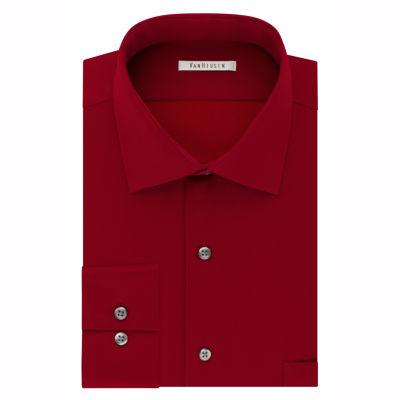 Van Heusen Flex Cool Collar Big And Tall Mens Spread Collar Long Sleeve Dress Shirt
