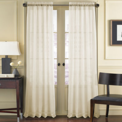 Queen Street Summit Rod-Pocket Curtain Panel